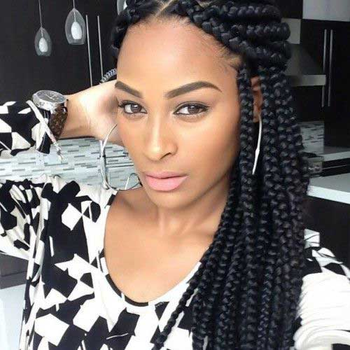 Box Braids Long Hairstyles Black Women