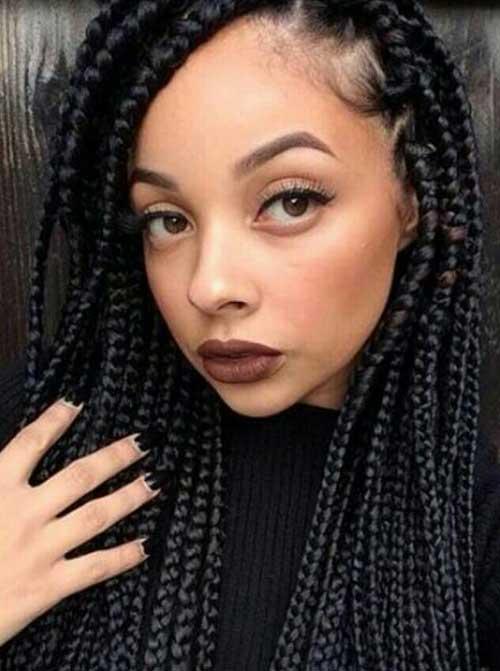 Amazing 20 Braids Hairstyles For Black Women Hairstyles Amp Haircuts 2016 Hairstyles For Women Draintrainus