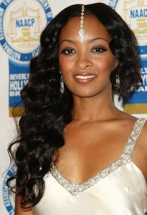 Curly Long Hair Styles for Black Women