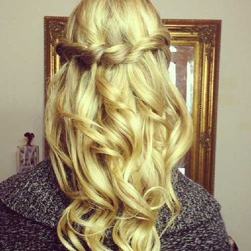 Gorgeous Hair Down Prom Hairstyles