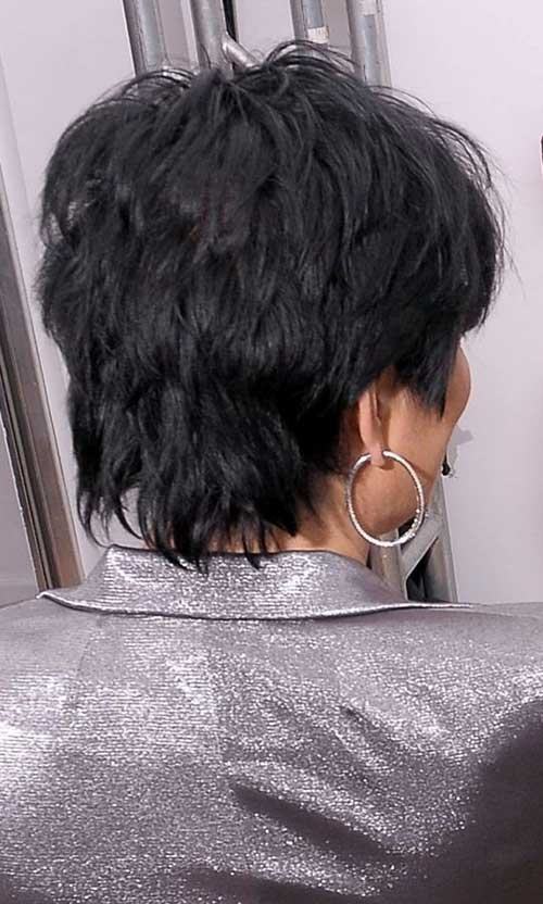 Short Hair Styles Back View Women Over 50