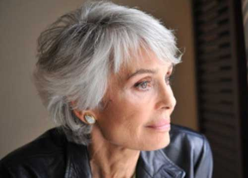 Short Grey Hairstyles: 15 Best Ladies Hairstyles Over 50