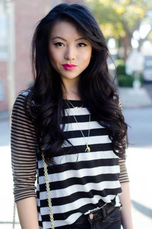 Long Hairstyles for Asian