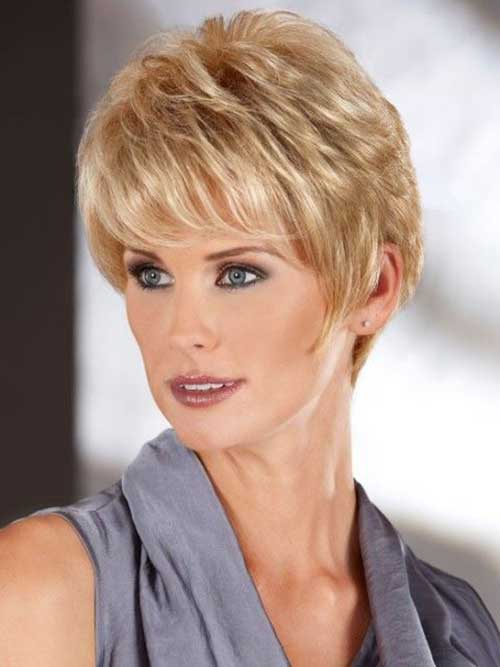 Haircuts For Thick Straight Hair Over 50 : Best ladies hairstyles over haircuts