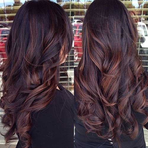 Stylish Latest Dark Brown Hairstyles for 2016