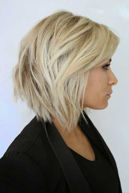 Layered Cut Straight Hairstyles