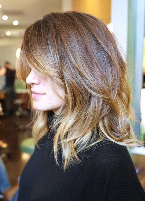 Layered Modern Haircuts for Women