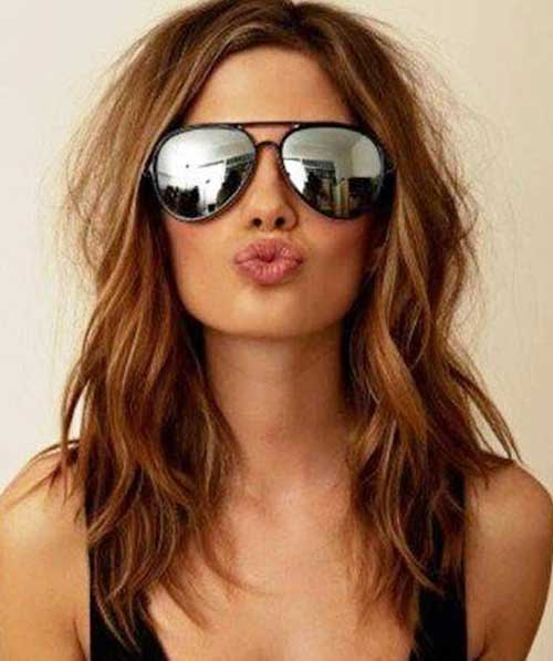 Medium Cut Layered Hairstyles