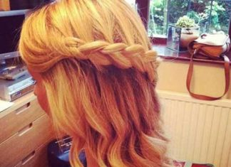 Chic Prom Hairstyles Long Hair Down