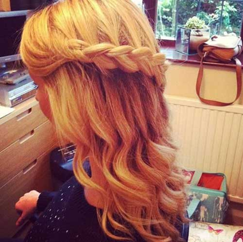 Excellent 20 Down Hairstyles For Prom Hairstyles Amp Haircuts 2016 2017 Short Hairstyles Gunalazisus