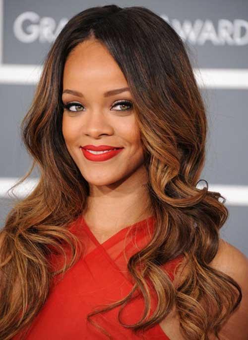20 Rihanna With Long Hair Hairstyles Amp Haircuts 2016 2017