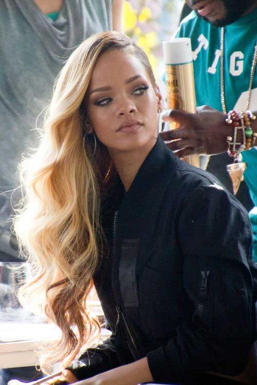 20 Rihanna With Long Hair Hairstyles Amp Haircuts 2016 2017