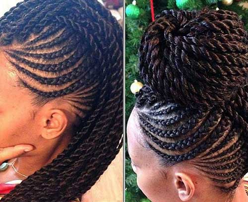 Outstanding 20 Braids Hairstyles For Black Women Hairstyles Amp Haircuts 2016 Hairstyle Inspiration Daily Dogsangcom