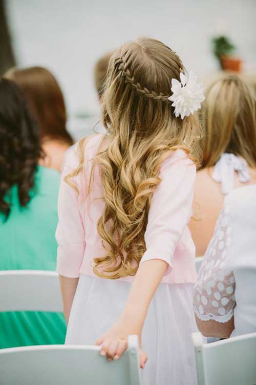 Waterfall Braid Down Prom Hairstyles