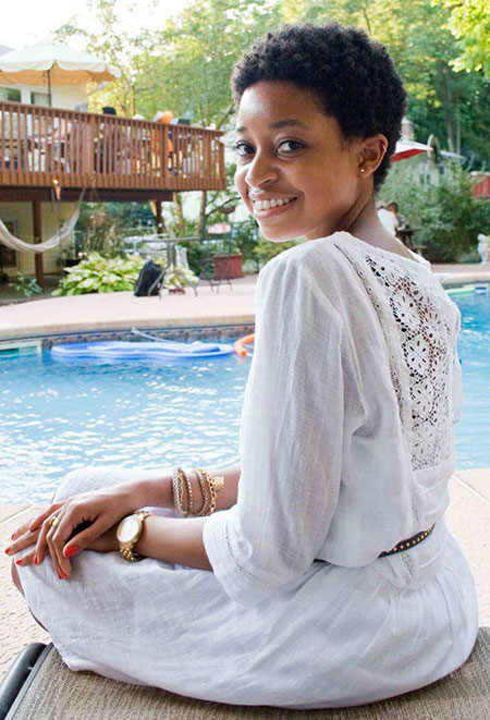 Short Hairstyles for Black Woman - 10