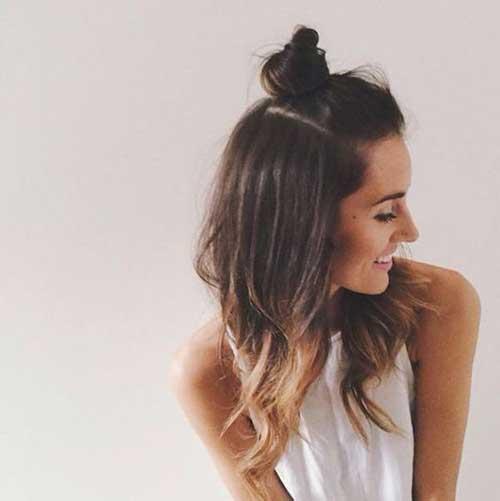 Half Bun Hairstyles-10