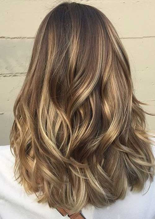 Mid Length Layered Hair-10