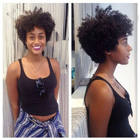 Short Hairstyles for Black Woman - 13