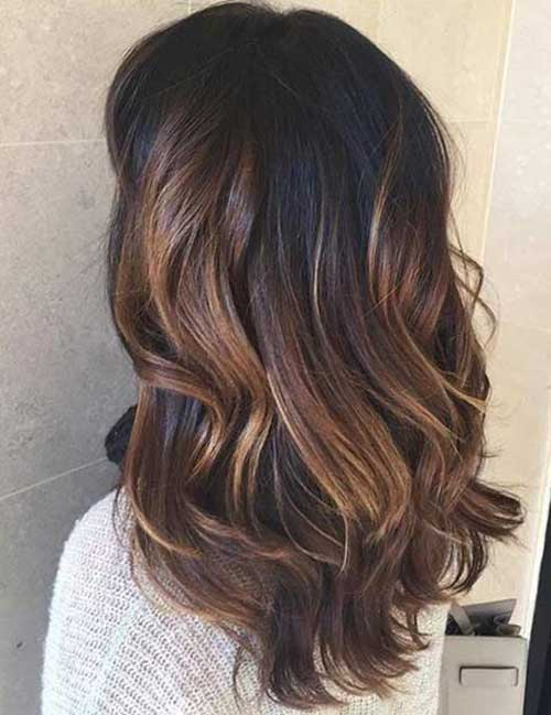 Mid Length Layered Hair-14