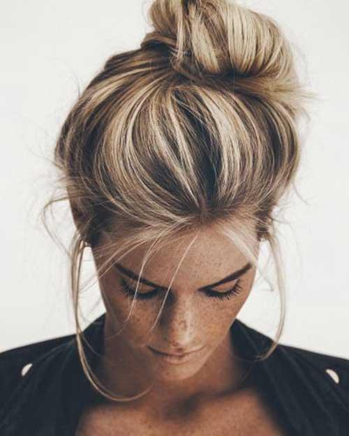 Big Bun Hairstyles-15