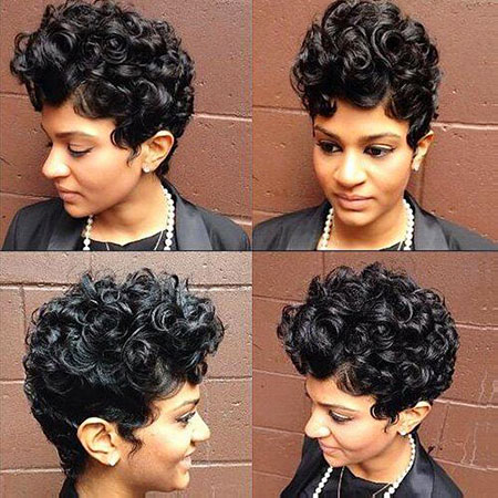 Short Hairstyles for Black Woman - 16