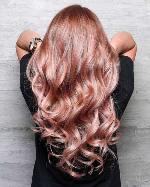 Hair Colors for Long Hairstyles-19