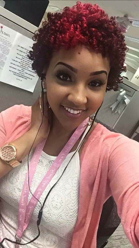 20 Cute Short Natural Hairstyles You Have To See