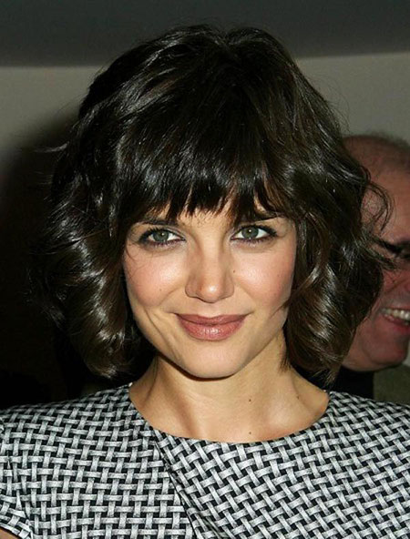 Short Thick Hair with Bangs