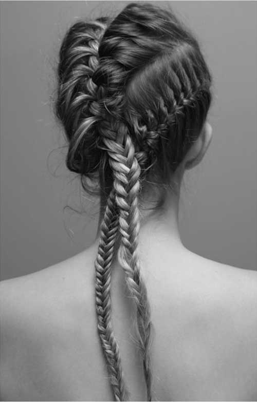 3 Braids Punk Hair