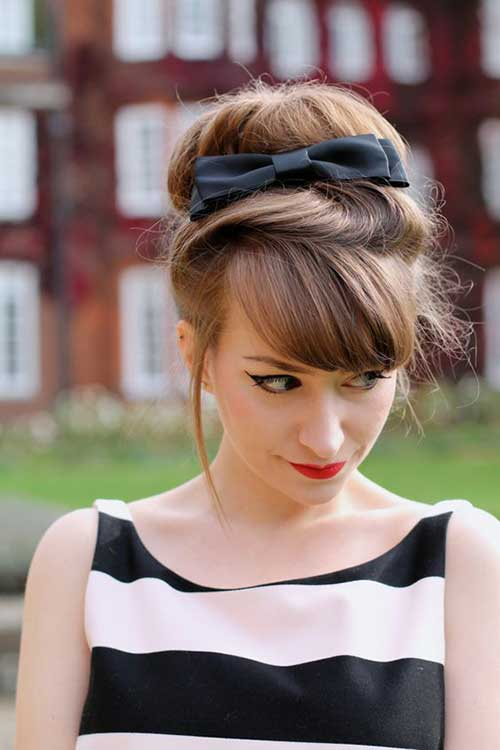 Pretty Big Bun Hairstyles For Ladies Hairstyles