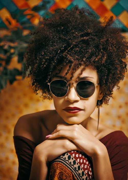 Cool Afro Style Hair