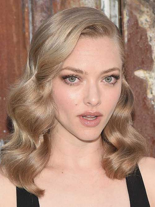Amanda Seyfried Curly Hair 2015