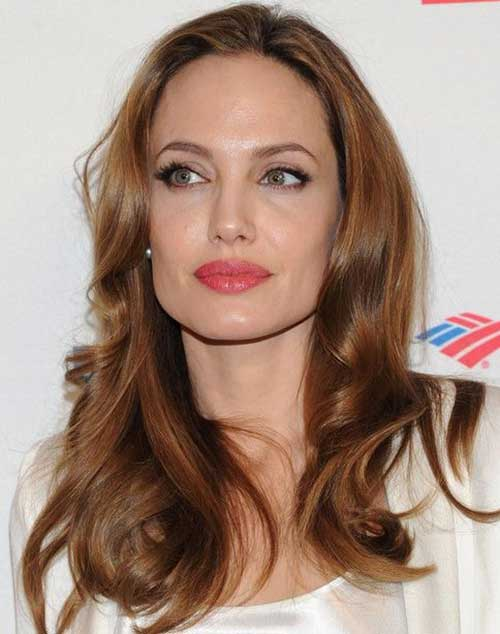 Angelina Jolie Famous Hair 2015