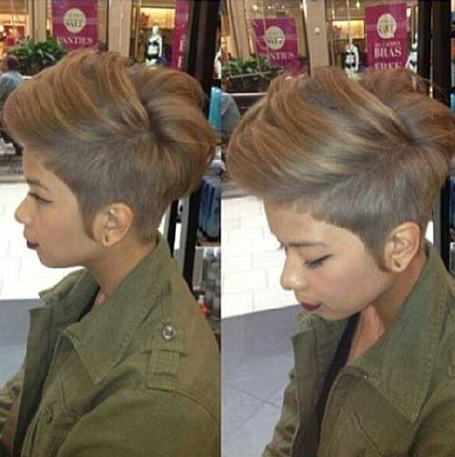 Ash Blonde Short African Hair