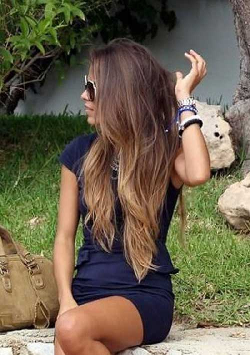 Ash Brown Ombre Hairstyles for Women 2016