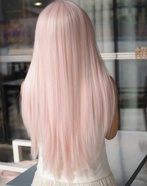 Baby Pink Hairstyles 2015