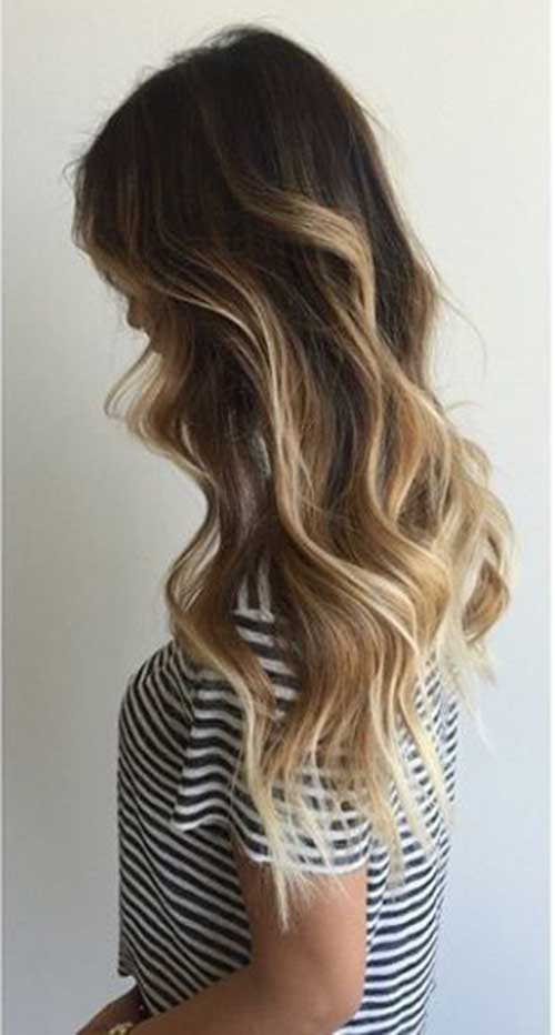 Balayage Bronde Long Hair Ideas