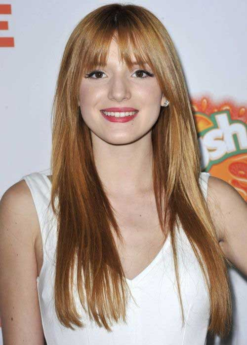 Best Bangs Hairstyles for Long Thin Hair