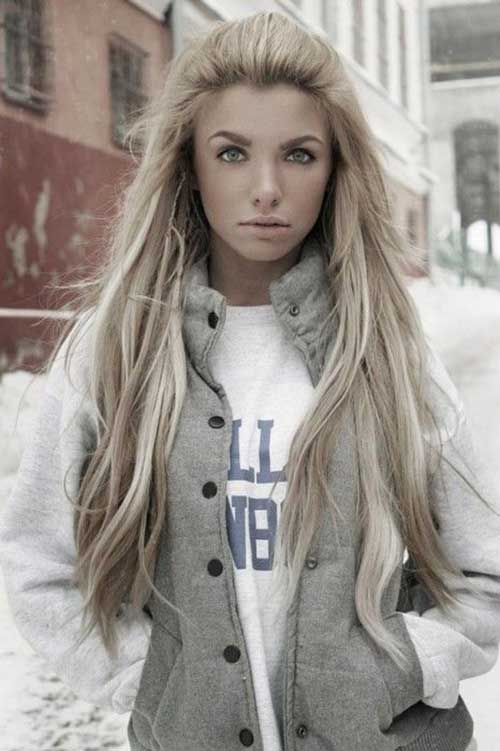 Beautiful Long Simple Hair