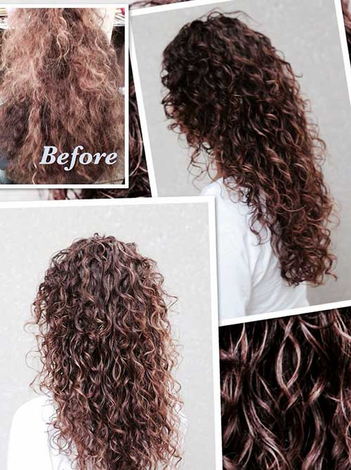 Wondrous 25 Curly Layered Haircuts Hairstyles Haircuts 2016 2017 Hairstyles For Women Draintrainus