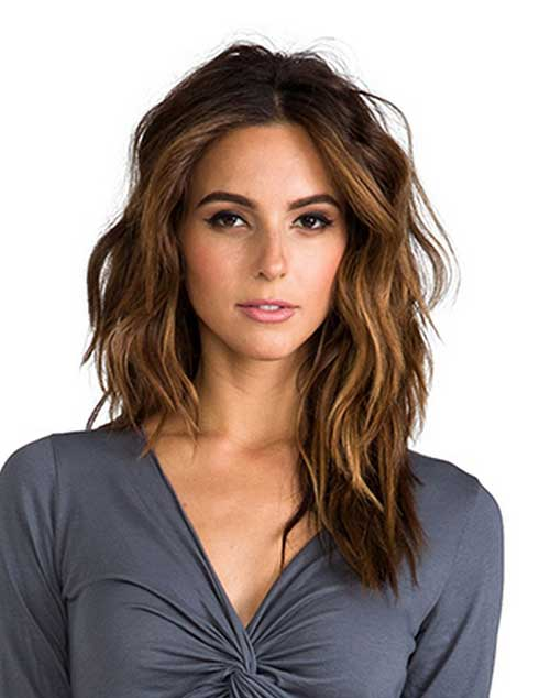 Mid Length Hair Layered
