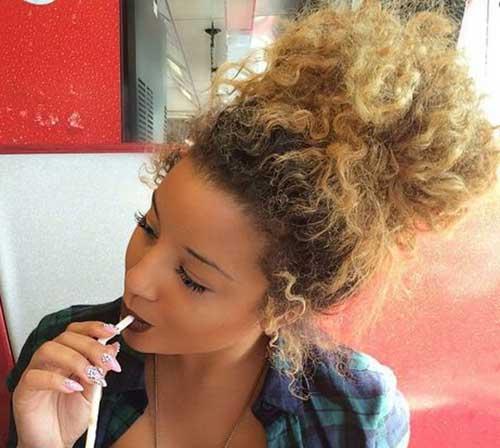 Big Bun Hairstyles