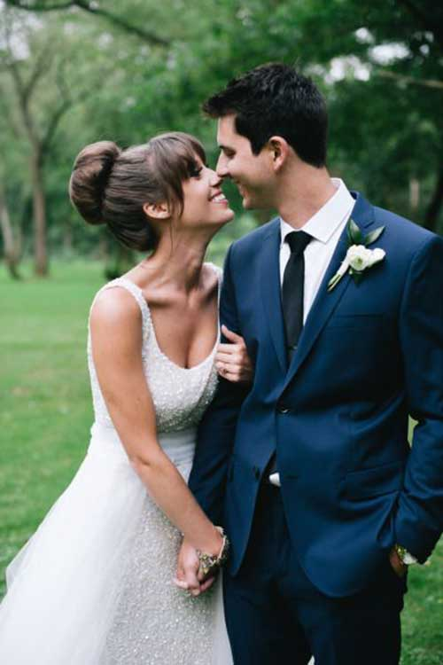 Best Big Bun Hairstyles for Wedding