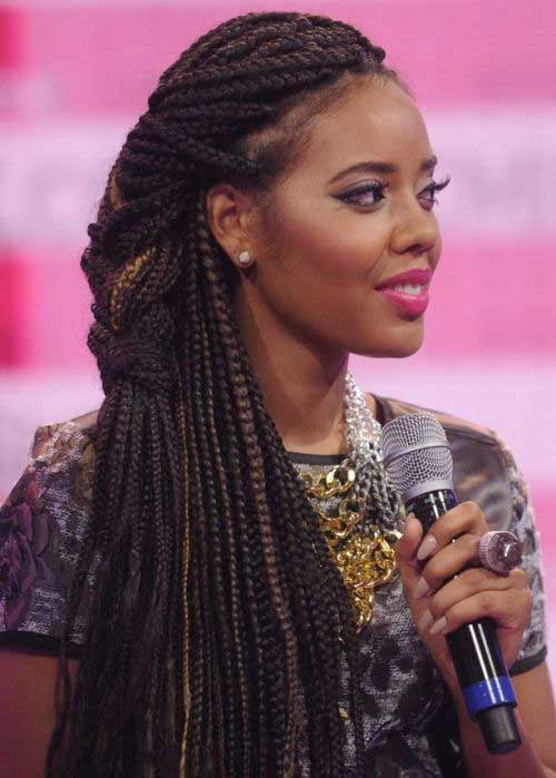 Box Braids Black African Hair
