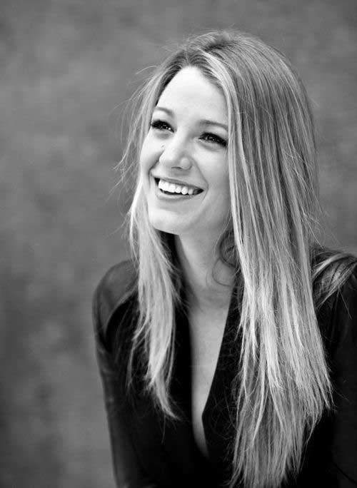Blake Lively Long Hairstyles