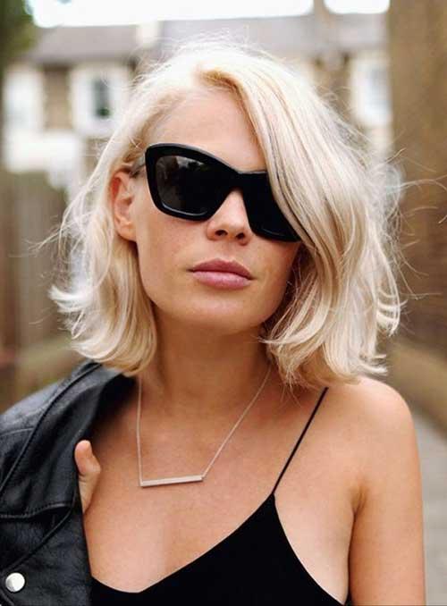 Blonde Hair Bob 2015