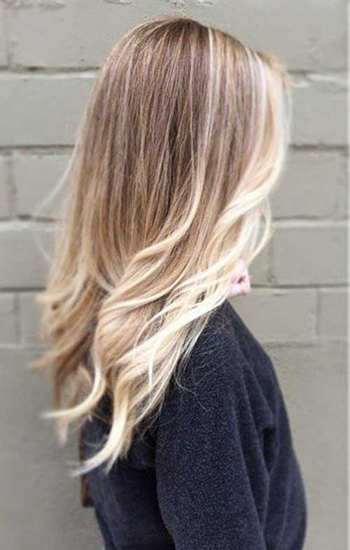 Sombre Blonde Long Hair Color Ideas