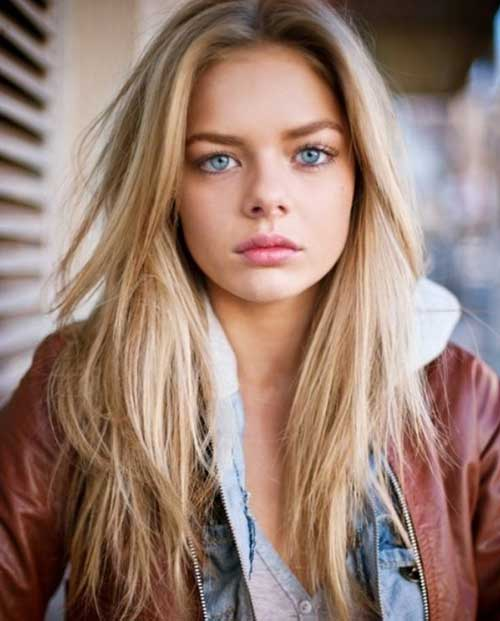 Blonde Long Straight Hair 2016