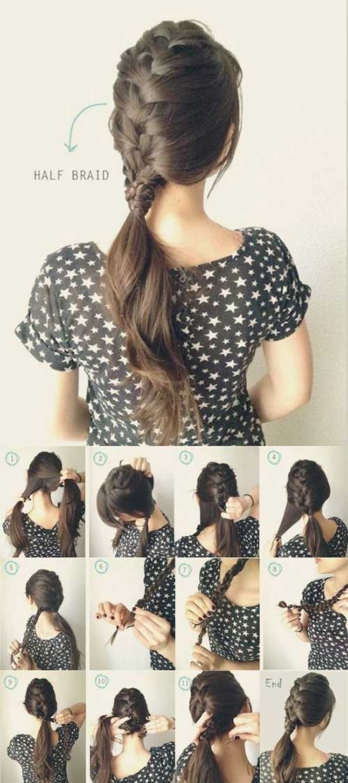 Best Braided Ponytail Style