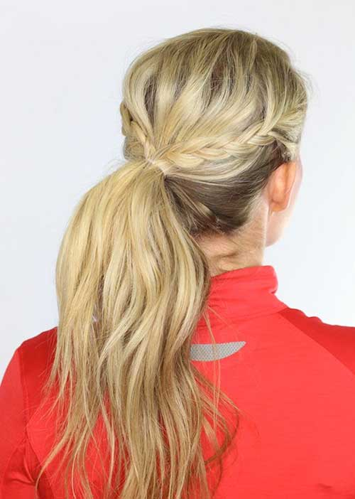 Latest Braided Workout Hairstyles